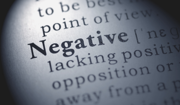 Cover negative Gedanken