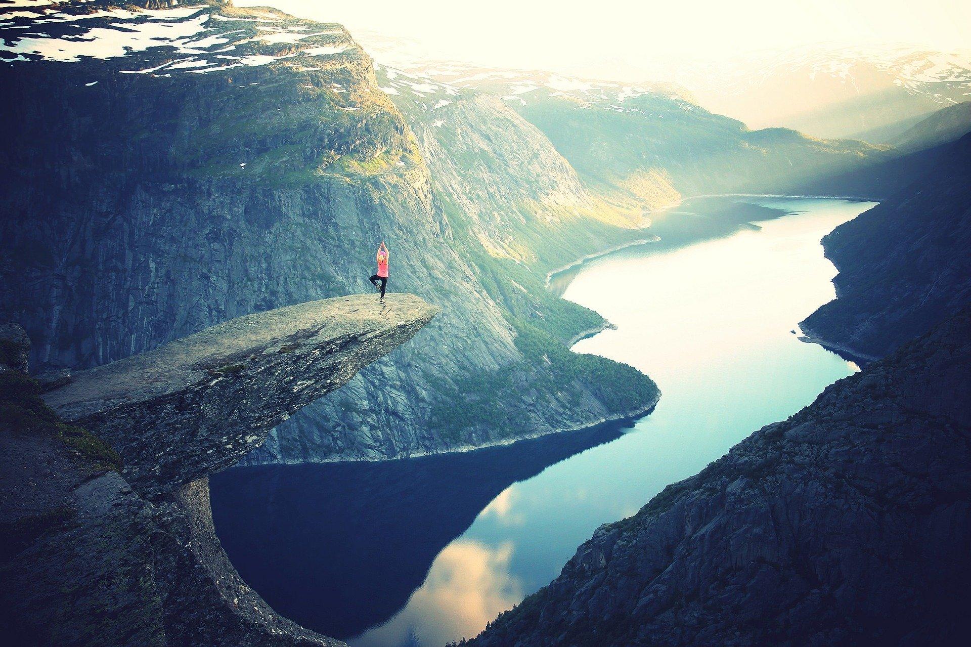 Sei mutig das befreit dich